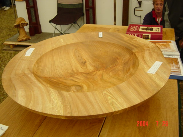 Large Elm Bowl - £500.00